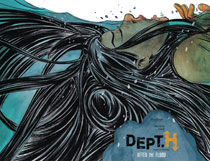 Image: Dept. H Vol. 02: After the Flood HC  - Dark Horse Comics