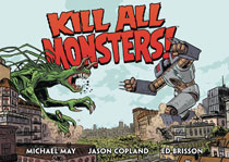 Image: Kill All Monsters! Omnibus Vol. 01 HC  - Dark Horse Comics