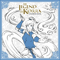 Image: Legend of Korra Coloring Book SC  - Dark Horse Comics