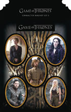 Image: Game of Thrones Character Magnet Set 3  - Dark Horse Comics