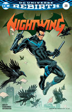 Image: Nightwing [2017] #20 (variant cover - Casey Jones) - DC Comics