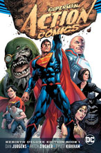 Image: Superman: Action Comics Rebirth Deluxe Collection Vol. 01 HC  - DC Comics
