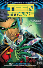 Image: Teen Titans Vol. 01: Damian Knows Best SC  - DC Comics