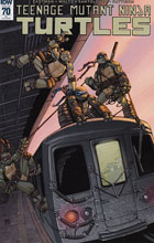 Image: Teenage Mutant Ninja Turtles #70 (incentive cover - Chris Johnson) (10-copy) - IDW Publishing