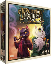 Image: Purrlock Holmes: Furriarty's Trail Card Game  - IDW Publishing