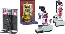 Image: Five Nights at Freddy's Micro Const Set Assortment  - Tmp Toys / Mcfarlane's Toys