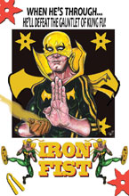 Image: Iron Fist #3 (variant cover - Davis)  [2017] - Marvel Comics