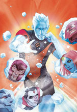 Image: Iceman #1 by Wada Poster  - Marvel Comics
