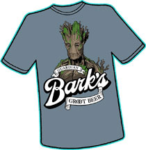 Image: Barks Groot Beer T-Shirt  (XXL) - Antarctic Press