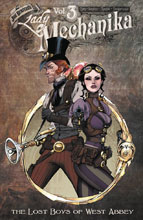 Image: Lady Mechanika Vol. 03: The Lost Boys of West Abbey SC  - Benitez Productions