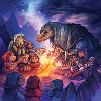 Image: Jim Henson's The Dark Crystal Tales HC  - Boom! Studios