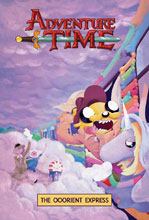 Image: Adventure Time Vol. 10: Ooorient Express SC  - Boom! Studios