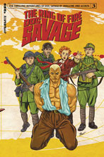 Image: Doc Savage: Ring of Fire #3 (cover A - Schoonover) - Dynamite