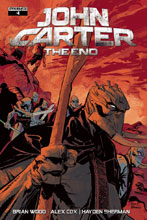 Image: John Carter: The End #4 (cover A - Brown) - Dynamite