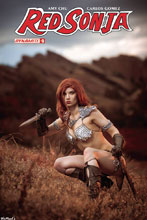 Image: Red Sonja Vol. 04 #5 (cover D - Cosplay)  [2017] - Dynamite