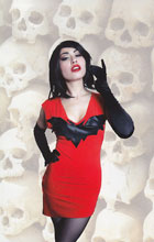 Image: Vampirella Vol. 04 #3 (Cosplay virgin incentive cover - 03051) (10-copy) - Dynamite