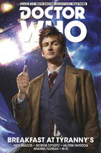 Image: Doctor Who: The 10th Doctor Facing Fate Vol. 01: Breakfast at Tyrannys HC  - Titan Comics