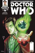 Image: Doctor Who: The 11th Doctor Year Three #8 (cover A - Shedd) - Titan Comics