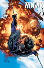 Image: Ninjak #27 (cover A - Segovia)  [2017] - Valiant Entertainment LLC