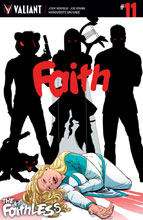 Image: Faith #11 (cover A - Kano)  [2017] - Valiant Entertainment LLC