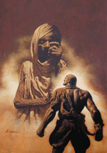 Image: Doc Savage #9: The Majii & The Golden Man SC  (Bama cover) - Sanctum Productions