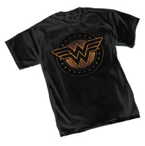 Image: Wonder Woman T-Shirt: Shield  (XXL) - Graphitti Designs