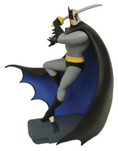 Image: Batman The Animated Series Gallery PVC Figure: Hardac Batman  - Diamond Select Toys LLC