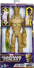 Image: Marvel Guardians of the Galaxy Titan Hero Deluxe Growing Groot Action Figure Case  - Hasbro Toy Group