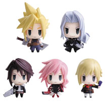 Image: FF Trading Arts Mini Blind Mystery Box 6-Piece Display Vol. 01  - Square Enix Inc