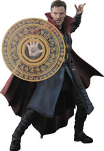 Image: Marvel S.H.Figuarts Action Figure: Doctor Strange & Burning Flame Set  - Tamashii Nations