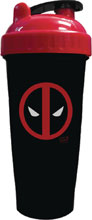 Image: Perfect-Shaker Marvel 28-ounce Bottle: Deadpool  - Perfect Shaker