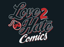 Image: Love to Hate Comics Card Game Expansion  - Green Ronin Publishing