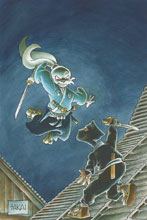 Image: Usagi Yojimbo Vol. 32: Mysteries Limited Edition HC  - Dark Horse Comics