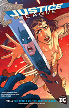 Image: Justice League Vol. 06: The People vs. the Justice League SC  - DC Comics