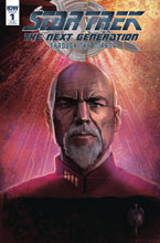 Image: Star Trek: The Next Generation: Through the Mirror #1 (incentive cover B - Peter McKinstry) (20-copy)  [2018] - IDW Publishing