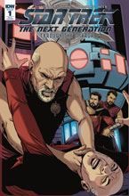 Image: Star Trek: The Next Generation: Through the Mirror #1 (incentive cover C - Marc Laming) (20-copy)  [2018] - IDW Publishing
