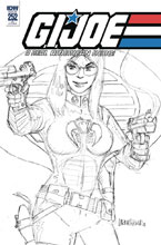 Image: G.I. Joe: A Real American Hero #252 (incentive cover - Larry Hama) (10-copy) - IDW Publishing