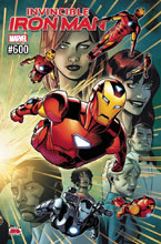 Image: Invincible Iron Man #600 - Marvel Comics