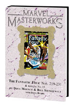 Image: Marvel Masterworks Vol. 264: The Fantastic Four Nos. 219-231, Annual No. 15 HC  - Marvel Comics