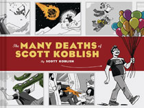 Image: Many Deaths of Scott Koblish HC  - Chronicle Books