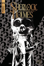 Image: Sherlock Holmes: Vanishing Man #1 (cover C incentive - Cassaday B&W) (20-copy)  [2018] - Dynamite