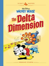 Image: Disney Masters Vol. 01: Mickey Mouse: The Delta Dimension HC  - Fantagraphics Books