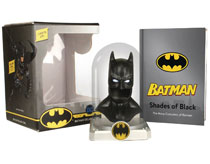 Image: Batman Deluxe Cowl & Illustrated Book Kit  - Running Press