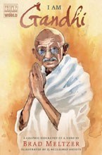 Image: I Am Gandhi Graphic Biography SC  - Dial Books