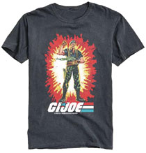 Image: G.I. Joe T-Shirt: A Real American Hero Vintage [Black]  (XXL) - The Forecast Agency