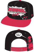 Image: Deadpool Chump 9Fifty Snap Back Cap  - New Era Cap Co