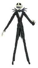 Image: Nightmare Before Christmas Silver Anniversary Deluxe Action Figure: Jack Skellington  - Diamond Select Toys LLC
