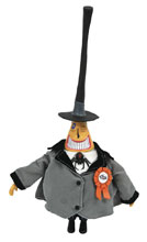 Image: Nightmare Before Christmas Silver Anniversary Deluxe Action Figure: The Mayor  - Diamond Select Toys LLC
