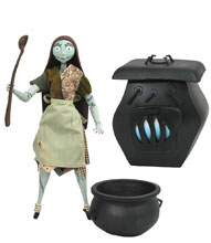 Image: Nightmare Before Christmas Silver Anniversary Deluxe Action Figure: Sally  - Diamond Select Toys LLC