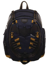 Image: DC Batman Inspired Built Up Backpack  - Bioworld Merchandising